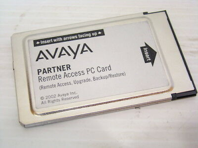 Avaya Partner ACS 12G4 PC Card 700252455 Remote Access Backup Restore WRNTY