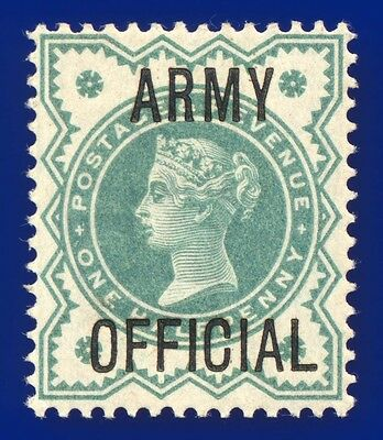 1900 SGO42 ½d Blue Green Army Official Unmounted Mint - MNH Cat-MM £10 ahwn