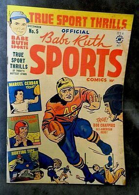 Babe Ruth Sports Comics (1949) V1 #5 -  FREE SHIPPING