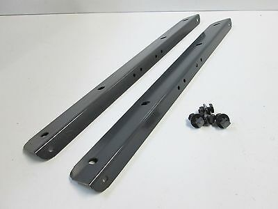"Sears Craftsman 10"" Radial Arm Saw Table Mounting Support Rails Angles 63673"
