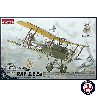 Roden 1/72 RAF S.E.5a with Wolseley Viper RO045 Brand New