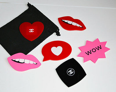 NEW VIP gift from Chanel beauty boutique Chanel set of magnets for refrigerator