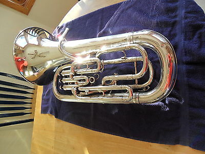 Besson BE967 Sovereign Silver Compensating Euphonium
