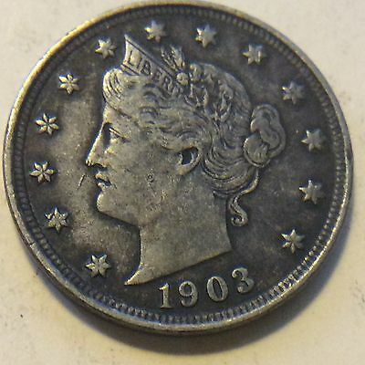 1903 Liberty V-Nickel   G868  Free Shipping