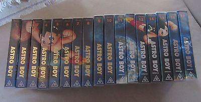 Astro Boy Complete VHS Collection Full Set