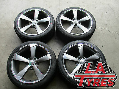 4x Audi A3 A4 18 INCH Rotor NEW WHEELS RIMS TYRES MELB
