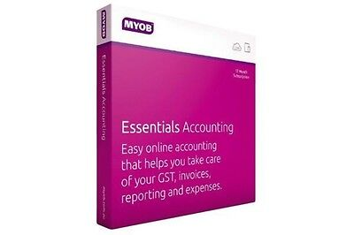 MYOB Essentials Accounting with Payroll 3 Month Trial