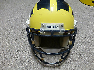 Michigan Wolverines Game Worn Football Helmet