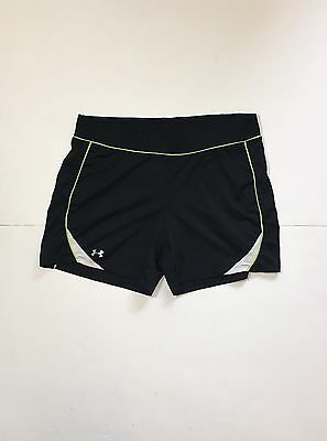Under Armour Women's Shorts Heat Gear Running Workout Athletic Shorts Size M