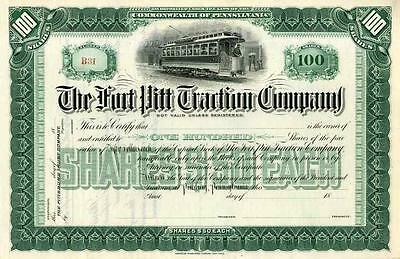 18__ Fort Pitt Traction Co. Stock Certificate