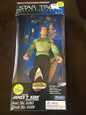 Star Trek Collector Series Starfleet Edition Captain James T Kirk Dress Figure