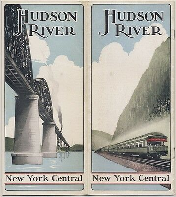 1926 Brochure NEW YORK CENTRAL LINES Hudson River RAILROAD