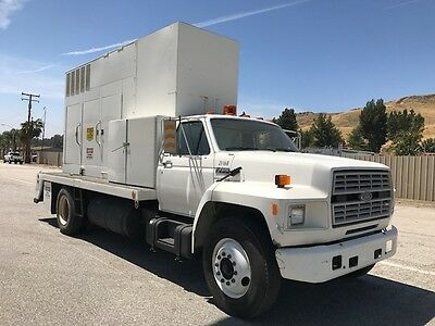 Ford F-700 Diesel 17K Miles Only Ac  With Cummins Genset 250Kw 313 Kva 217 Hours