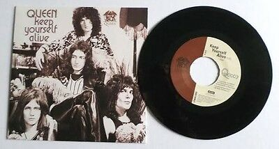 """QUEEN Keep Yourself Alive 7"""" Picture Sleeve RSD Rare Freddie Mercury 40th Anniv."""