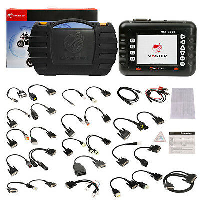 Master MST-3000 Full Version Universal Motorcycle Scanner Fault Code Scanner for