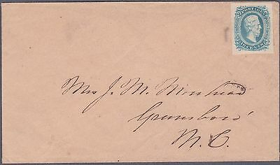 Confederate CSA Cover #11 Ten Cent Stamp NICE!!!