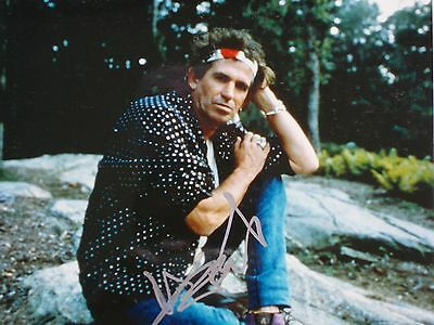 """KEITH RICHARDS SIGNED AUTOGRAPH PHOTO 8"""" X 10"""", free shipping"""