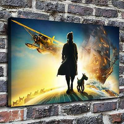 Adventures of tintin Paintings HD Print on Canvas Home Decor Wall Art Pictures