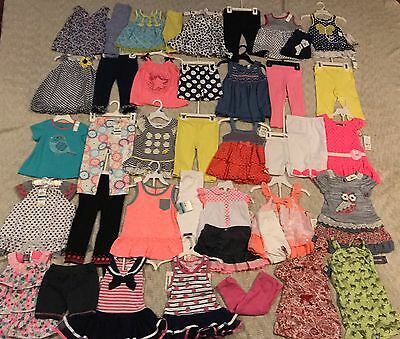 Baby Girls Clothes 40 Piece Lot NWT Size 2T 24M Boutique MSRP $700 Spring Summer