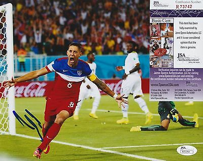 Clint Dempsey Signed 8x10 Photo w JSA COA #R73742 US Soccer Seattle Sounders USA