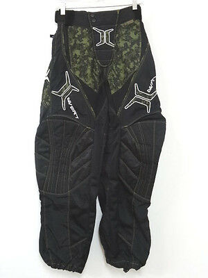 Invert Paintball Pants - In Black W/camouflage Accents - Mens Size Xs 26-32 Euc