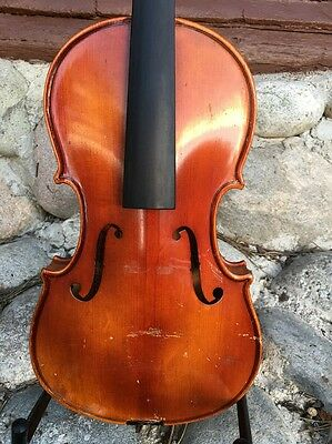 Vintage Hungarian Violin For Restoration