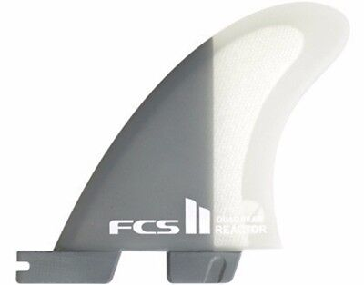 FCS II Reactor PC Quad Rear Medium Fin Set
