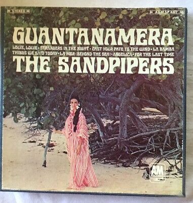 The Sandpipers Guantanamera  Reel Tape Fully Tested  3-3/4ips EX/VG+