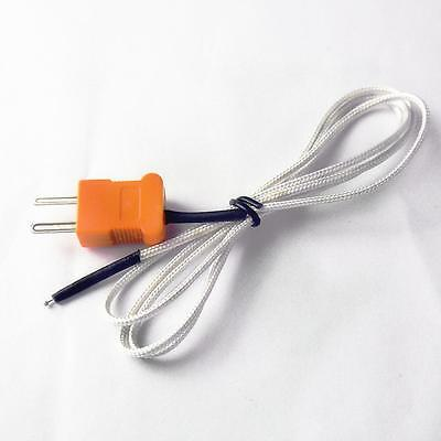 Hot K-type Thermocouple  Sensor Tester Probe 1M Wire Measuring Temperature