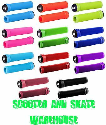 New Odi Scooter Handle Bar Grips Will Fit Most Scooters Mgp Envy & Grit Scooters