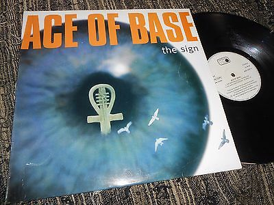 """ACE OF BASE The sign +2 12"""" MX 1994 SPANISH EDITION SPAIN"""