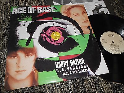 ACE OF BASE Happy Nation LP 1994 SPANISH EDITION SPAIN *rare*