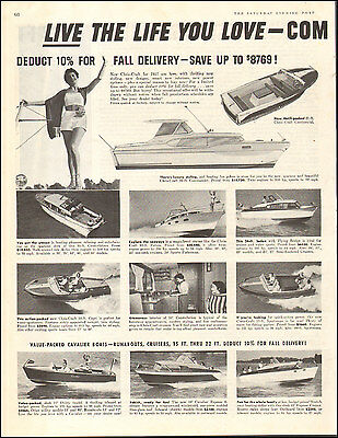 1956 Vintage ad for `1957 Chris-Craft Boats`2-pgs   Photo (091616)