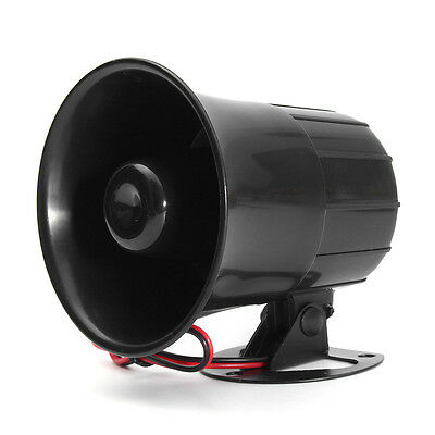 12V 110dB Car Truck Auto Speaker Loud Siren Horn Security Electric Alarm Tone
