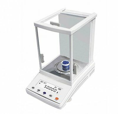 Digital Lab Equipment Analytical Balance Scale 200x 0.1mg Accurate calibration