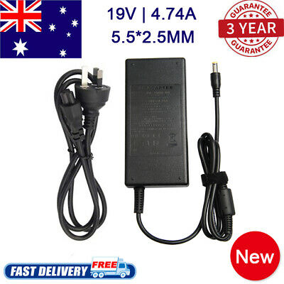 19V 4.74A 90W AC Adapter Power Supply Charger for Toshiba ASUS Laptop 2.5*5.5mm