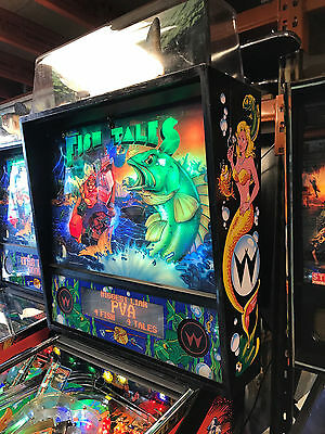 Fish Tales Pinball Machine Comes With Warranty New Topper Pinballking