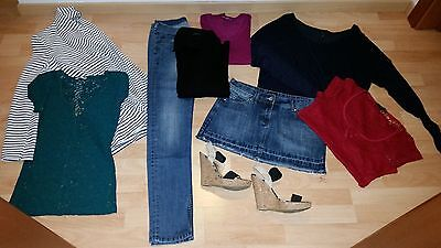 Lotto3: abbigliamento donna primavera casual Glenfield, Benetton, Tally Weijl