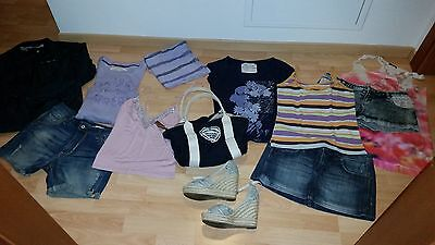 Lotto4: abbigliamento donna estate casual CK, Please, Carrera, Freddy, Benetton