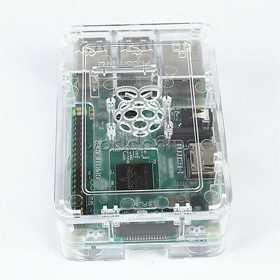 Transparent ABS Case Raspberry Pi Case Updated for Raspberry Pi 3, 2 & B+