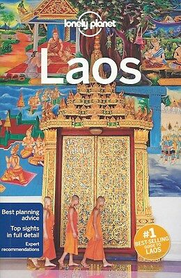 Lonely Planet Laos *FREE SHIPPING - NEW*