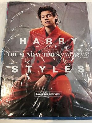 (Brand New) Harry Styles One Direction (1D) The Sunday Times Magazine