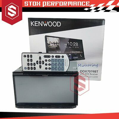 """Kenwood DDX7017BT 7"""" Double-Din Bluetooth Air Mirroring HDMI Spotify Car Stereo"""