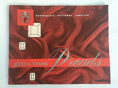 Vintage 1960's? Prouds Jewellers Catalogue - Australia's National Jeweller