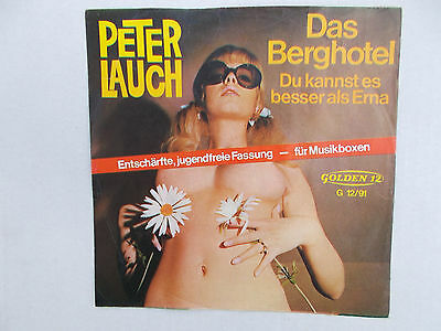 "Peter Lauch- Das Berghotel (Ingrid Steeger,7"" Single,1969, Z= 1-2 )"
