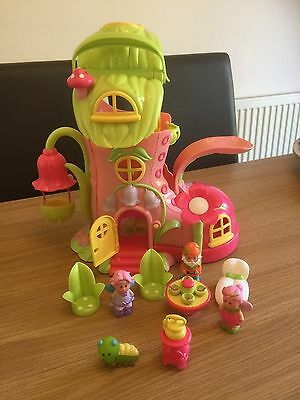 ELC Happyland Fairyland Bluebell Boot, Great Condition with Figures