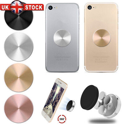 Magnetic Car Holder Plate Metal Plate for Magnet Phone Holder Disc GPS Mount JML