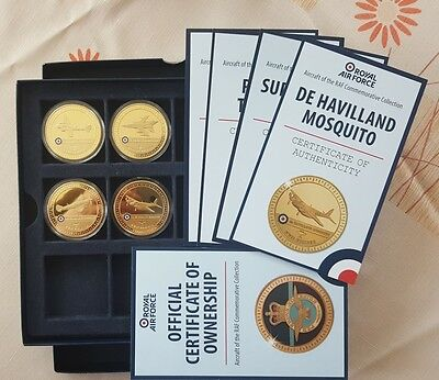 BEAUTIFUL NUMISMATS Gold-Plated Medal 24ct Gold-Plated BRAND NEW