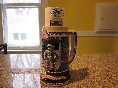 NASA Beer Stein Great American Achievements 5th in series RARE COLLECTIBLE