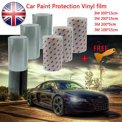 3M Transparent Paint Helicopter Bike Frame Protection Tape Protector UK